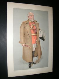 Vanity Fair Print 1903 Henry Wylie Norman, Military